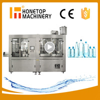 Best price automatic small liquor drinking mineral water bottling plant machine sale in china