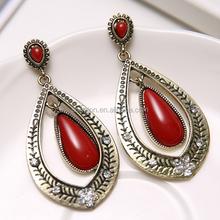 Fashion design hanging earrings new design earrings simple design earrings