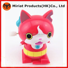 New hot mascot cat plastic wind up toys
