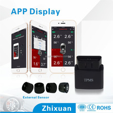 Hot selling smartphone tpms, tpms android, bluetooth tpms