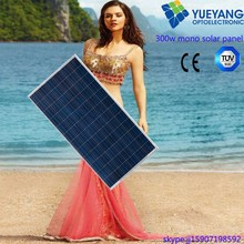 A grade High Efficiency 300W poly solar panel with CE CEC TUV ISO certificate
