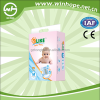 Quick Absorbtion And Dry High Quality Disposable Baby Diaper With OEM