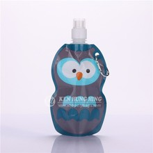 BPA free Animal Shape Pouch Spout Plastic Bag Packaged Drinking Water