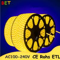 shenzhen led light smd5050 3528 rgb flex cable strip ac120v rollo de led 50 m