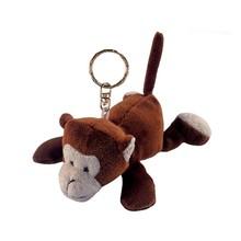 plush stuffed monkey keychain , plush keychain monkey, plush monkey keychain
