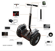 cross-country 2 wheel electric scooter self balancing of 36V Motor Max Load 125kg