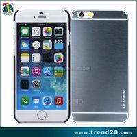new products 2016 aluminum back case for iPhone 6 motomo hard case