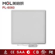 2015 hot sale 36W 3600LM 600x600 LED panel light with TUV,GS,cULus,DlC compliance