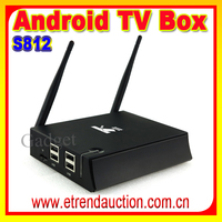 Best Original K2 4K Octo core android 4.4 smart tv set box quad core Amlogic S812 CPU model KII Android tv box
