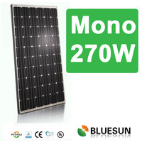 Approved CSA certificates for Canada and USA market solar module 270w 36v