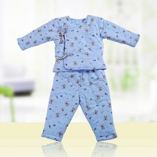 Newborn Baby Boys Cotton Knitted Printed Winter Clothes Set With Tie
