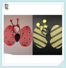 Deeley Bopper Ladybird Bumble Bee Fancy Dress Girls Fairy Wings Set HPC-0814