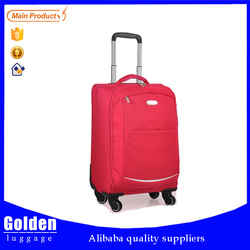 Alibaba China Baigou customized suitcase case stable and durable trolley luggage 4 universal wheels luggage travel bag