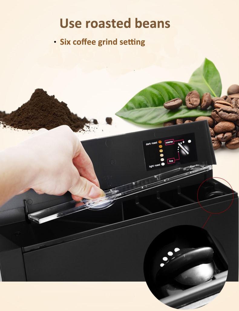 Uso doméstico / escritório / Horeca Espresso máquina de café