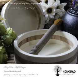 HONGDAO Professional custom round cases, wooden candy cases