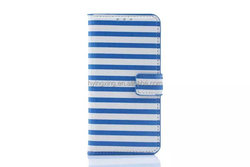 For Samsung Galaxy S6 accessories, for S6 strip leather case