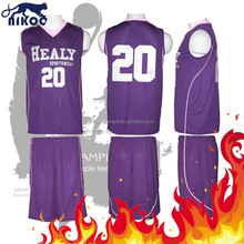 college basketball uniform color purple