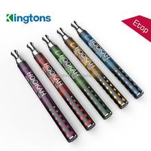 Top seller high quality Shenzhen Kingtons 800 puffs hookah electronic cigarettes vaporizing pens