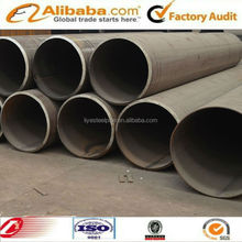 Tianjin high quality large diameter welded round steel pipe