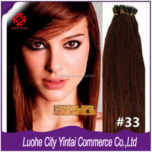 New Arrivel !!! Stick Real Remy Human Hair, 100%Virgin Brazilian Hair I-Tip Hair Extension