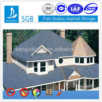 San-gobuild Asphalt Roofing Shingle Fish Scale
