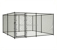 Large outdoor chain link dog kennel / dog cages, welded wire dog kennel / pet enclosure.
