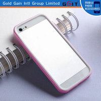 Popular TPU+PC Bumper Cover Case For Iphone 5S