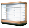 multideck open cooler with remote condensing unit, double air curtain, led lighting