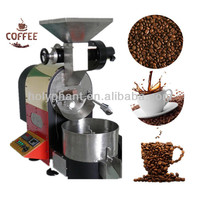 2014 Automatic stainless steel 1KG coffee bean roaster