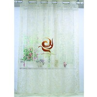cheap fabric curtain wholesale european sheer curtain drapery