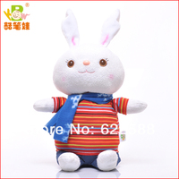 Custom 2014 most popular cute rabbit promotional toy imported plush stuffed animals