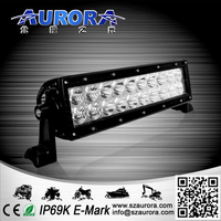 Dual-oversized heat sink high quality water proof 10''led light bars off road lights