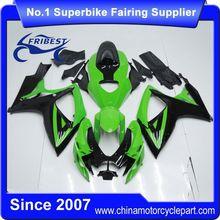 FFGSU003 Motorcycle Fairing For GSX R750 GSXR750 GSX R600 GSXR600 2006 2007 Green&Black Monster 2