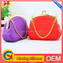 New style hot selling silicone travel pocket coin purse