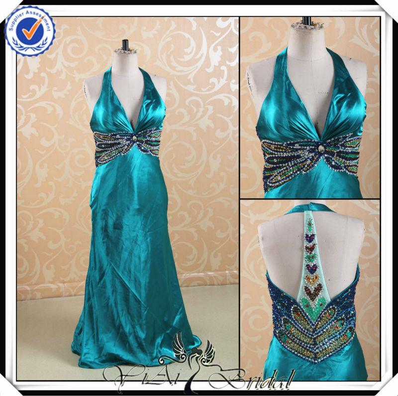 sexy pp0124 matrimonio brasileño vestidos de fiesta para las señoras jóvenes