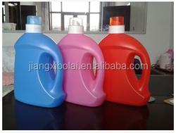 Best selling 3L plastic laundry detergent bottle liquid bottles