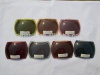 Colorful Decentered Sunglass polycarbonate Lens