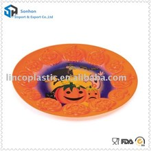 Cute Design Decoration Plastic Halloween Fruit Tray