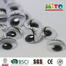 diy plastic eyes safety 5mm black&white eyes for toys