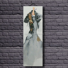 Room Framed Decoration Abstract Paintings with Human Figures