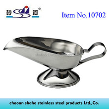 Stainless Steel Products Sauce Boat for Togo Market