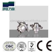 sanitary dual stainless steel check valve