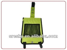 portable green portable electric bicycle charger
