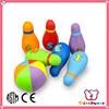 Sedex ICTI Factory Soft Stuffed Happy kid toy,kid mini bowling toy,kids bowling set toy