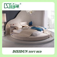 King size round bed cheap withe round bed DS-1015#