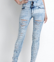 New Design Wholesale Men Jeans Ripped pantalones jeans para hombre