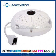 Amovision 5mp 360 camera QP500 alarm 360 degree celling ip camera sd
