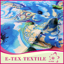 Designer fabric supplier Formal Rayon fabric printed words