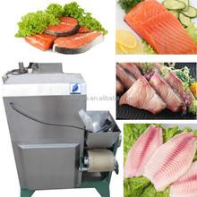 Fish meat and bone separator machine