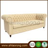 European style living room fabric chesterfield sofa with buttons SO-334